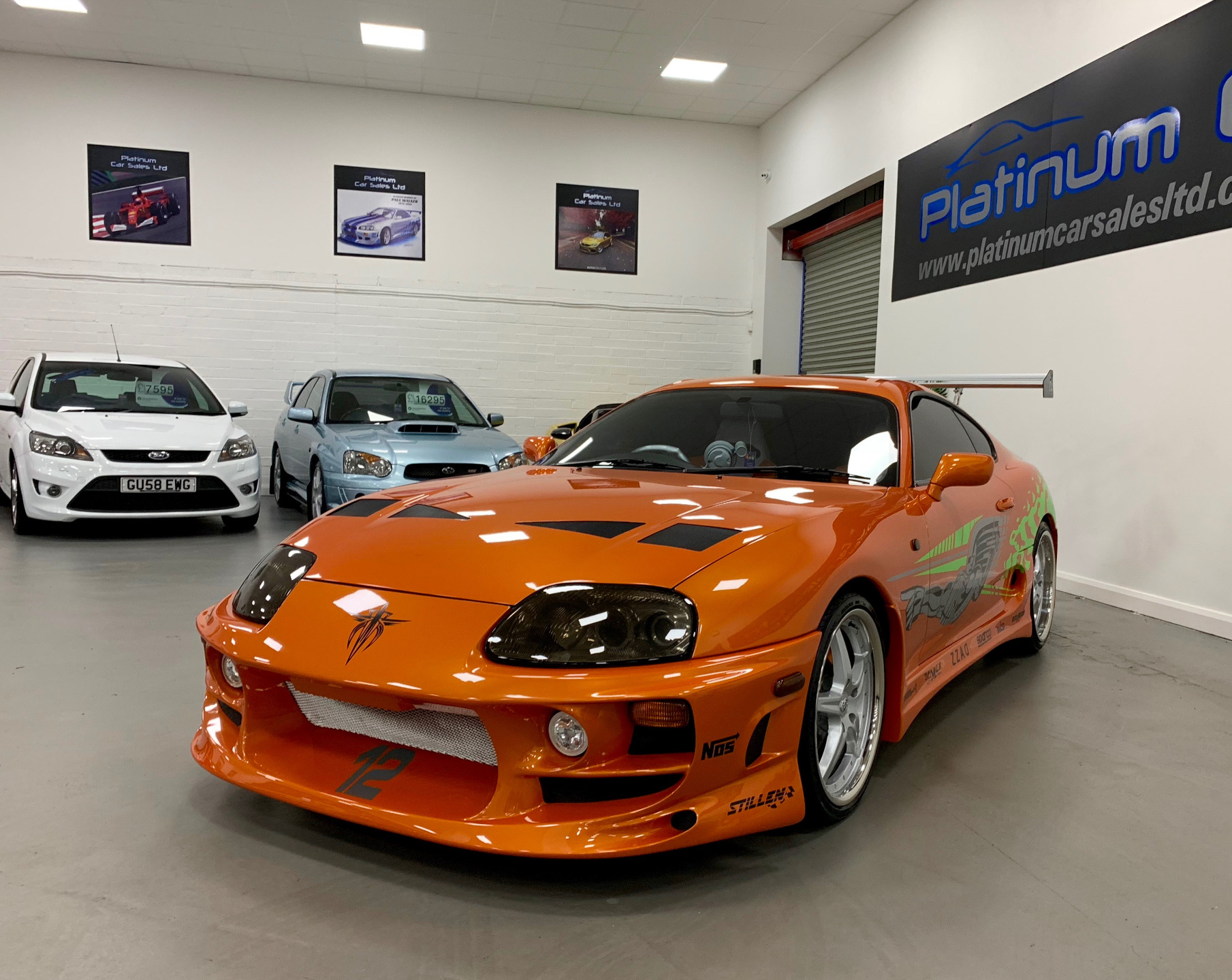 Used TOYOTA SUPRA 2JZ THE FAST AND THE FURIOUS, ARIANCO ATLAS , 3 0