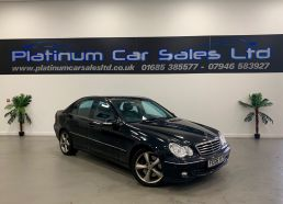 Used MERCEDES C-CLASS in Merthyr Tydfil for sale