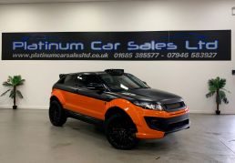 Used LAND ROVER RANGE ROVER EVOQUE in Merthyr Tydfil for sale