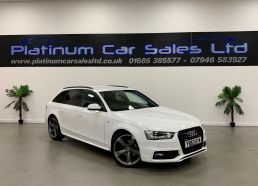 Used AUDI A4 in Merthyr Tydfil for sale